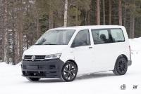 ID.BUZZ市販型、ブランド史上初のフルエレクトリックモデルへ。最新プロトをキャッチ! - VW ID.Buzz mule 2