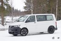 ID.BUZZ市販型、ブランド史上初のフルエレクトリックモデルへ。最新プロトをキャッチ! - VW ID.Buzz mule 3