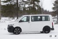 ID.BUZZ市販型、ブランド史上初のフルエレクトリックモデルへ。最新プロトをキャッチ! - VW ID.Buzz mule 4