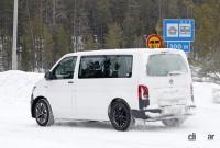ID.BUZZ市販型、ブランド史上初のフルエレクトリックモデルへ。最新プロトをキャッチ! - VW ID.Buzz mule 6