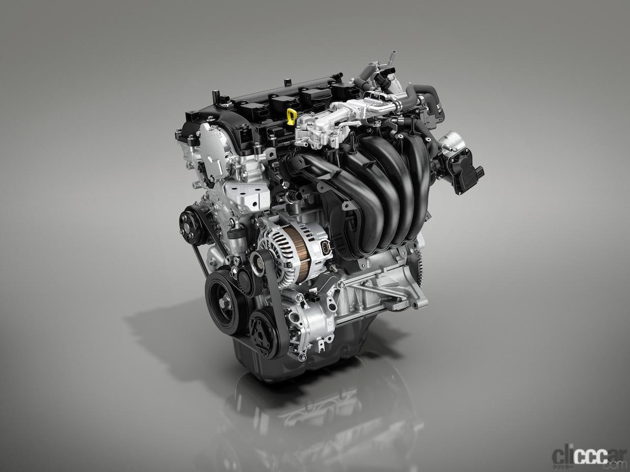 「MAZDA2の1.5Lガソリンエンジンにダイアグナル・ボーテックス・コンバスチョンを採用した「SKYACTIV-G 1.5」を追加」の4枚目の画像