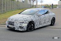 メルセデス・ベンツ EクラスのEVモデル「EQE」に、AMGバージョンの存在を確認! - Spy shot of secretly tested future car