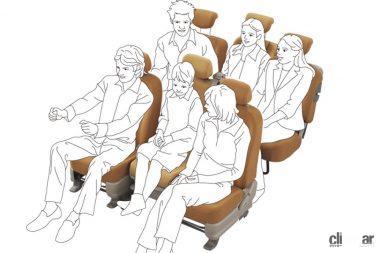 6人乗車の例