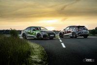 魅せたドリフト!アウディ「RS3」次期型、最高速は290km/h - 2022-Audi-RS-3-Sneak-Preview-001