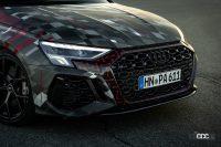魅せたドリフト!アウディ「RS3」次期型、最高速は290km/h - 2022-Audi-RS-3-Sneak-Preview-015