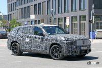 BMW新型フルサイズ・クロスオーバーSUV「X8/XM」、アグレッシブな排気口は本物か!? - BMW X8 5
