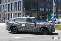 BMW新型フルサイズ・クロスオーバーSUV「X8/XM」、アグレッシブな排気口は本物か!? - BMW X8 6