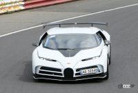 「地球上で最もエキサイティング」な10億円のブガッティ「チェントディエチ」がニュルで高速テスト! - Bugatti Centodieci track 3