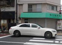 まだ発売前なのに東京で遭遇。メルセデスベンツ Sクラスの新型「マイバッハ」を発見! - S_MAYBACH02