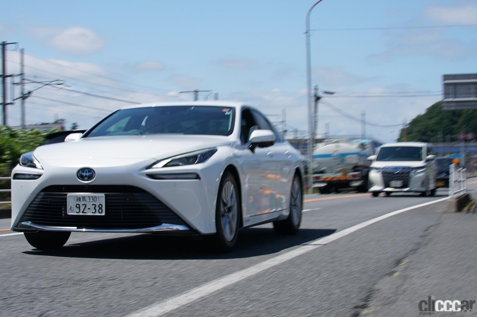 「【速報】トヨタMIRAIの満タン水素で1040.5km走破!燃費は197km/kg!!日本チームが仏の世界一記録を更新」の5枚目の画像