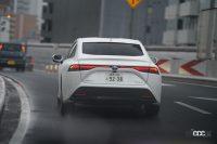 【速報】トヨタMIRAIの満タン水素で1040.5km走破!燃費は197km/kg!!日本チームが仏の世界一記録を更新 - 途中は雨にも見舞われ、燃費に影響を受けました