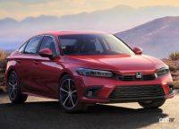 新型・ホンダ シビック、パフォーマンスモデルの「Si」はセダンにのみ設定か? - Honda-Civic_Sedan-2022-1280-01