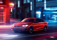 新型・ホンダ シビック、パフォーマンスモデルの「Si」はセダンにのみ設定か? - Honda-Civic_Sedan-2022-1280-05