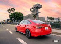 新型・ホンダ シビック、パフォーマンスモデルの「Si」はセダンにのみ設定か? - Honda-Civic_Sedan-2022-1280-18