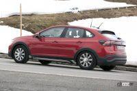 フォルクスワーゲンの新型クーペSUV「タイゴ」は、全長4.3mのコンパクトサイズ - Spy shot of secretly tested future car