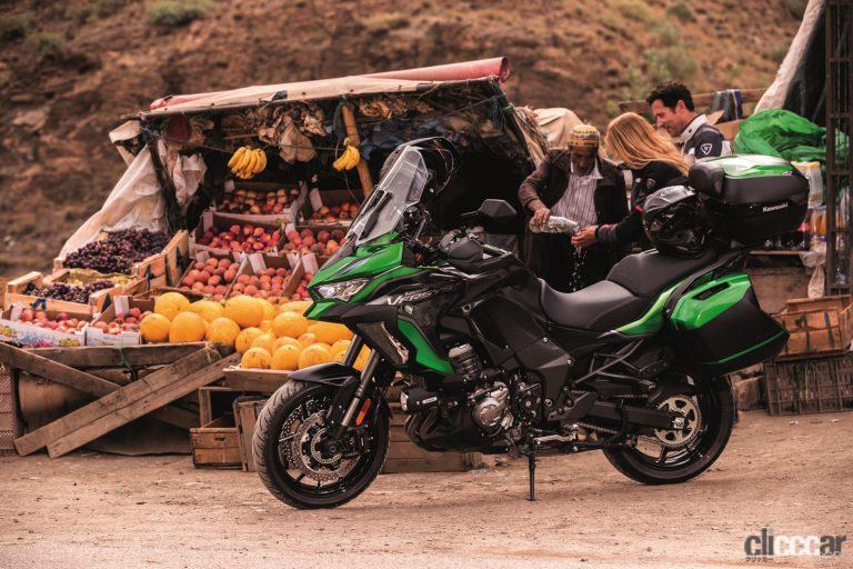 カワサキ1000cc冒険バイクのヴェルシス1000SEに2021年モデル