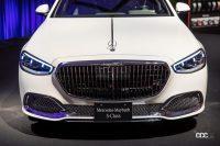 新型メルセデス・マイバッハSクラスは、180mmのロングホイールベース化をすべて後席スペースの拡充にあてる - Mercedes_maybach_sclass_20210701_8