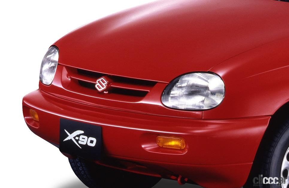「スズキ X-90は2シーターなのに3ボックス、しかもSUV?【ネオ・クラシックカー・グッドデザイン太鼓判「個性車編」第10回】」の2枚目の画像