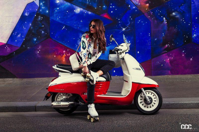 プジョー製スクーターのジャンゴに2021年後期モデル