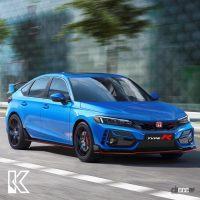 気になるパワートレインは? ホンダ シビックタイプR次期型、デザイン大予想! - Honda Civic Type R_004