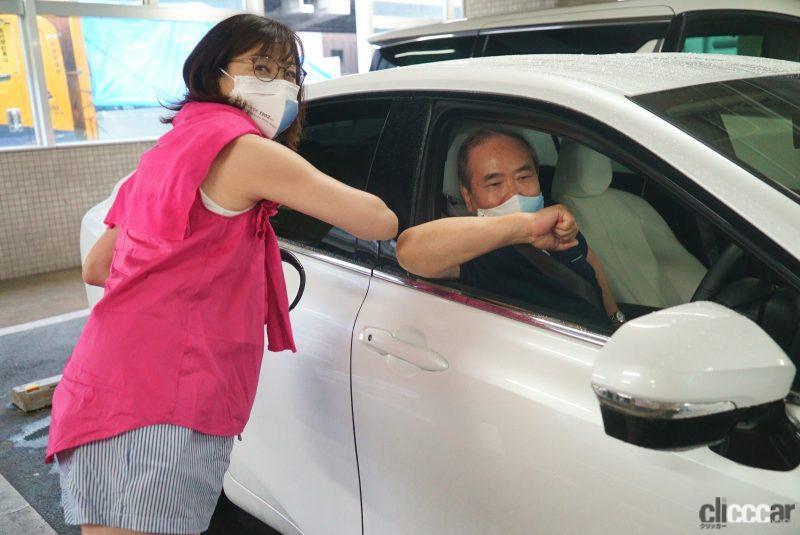 吉田由美さんからバトンを受け取った松下宏さん
