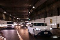 首都高の交通量も増えてきている