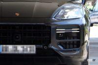 ポルシェ カイエン改良型、最新世代インフォテイメントディスプレイをさらに大型化へ! - Porsche Cayenne Facelift 3