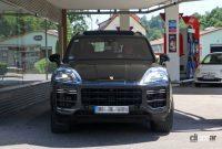 ポルシェ カイエン改良型、最新世代インフォテイメントディスプレイをさらに大型化へ! - Porsche Cayenne Facelift 4