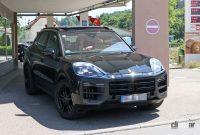 ポルシェ カイエン改良型、最新世代インフォテイメントディスプレイをさらに大型化へ! - Porsche Cayenne Facelift 6