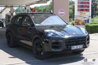 ポルシェ カイエン改良型、最新世代インフォテイメントディスプレイをさらに大型化へ! - Porsche Cayenne Facelift 7