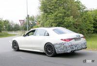 もうV12は必要なし!? メルセデスAMGの電動スポーツセダン「S63e/S73e」、V8で最大800馬力 - Mercedes AMG S63e 13'