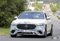もうV12は必要なし!? メルセデスAMGの電動スポーツセダン「S63e/S73e」、V8で最大800馬力 - Mercedes AMG S63e 3'