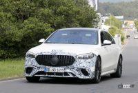 もうV12は必要なし!? メルセデスAMGの電動スポーツセダン「S63e/S73e」、V8で最大800馬力 - Mercedes AMG S63e 4'