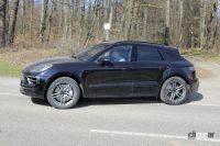 ポルシェ マカン改良型、ラインアップすべて馬力向上の噂! - Spy shot of secretly tested future car