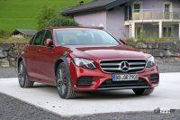 メルセデス・ベンツ謎のプロトタイプは、Eクラス次世代型?それともAMG GT4ドアクーペ? - Mercedes E Class mule 2