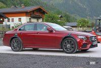 メルセデス・ベンツ謎のプロトタイプは、Eクラス次世代型?それともAMG GT4ドアクーペ? - Mercedes E Class mule 8