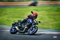 自由度MAXのピュアスポーツ!ヤマハMT-07 ABSは「バイクらしさ」を体で感じるハンドリングマシン - '21YamahaMT-0227