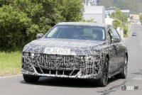 車内を激写!BMW 7シリーズ次期型、湾曲ディスプレイなどを搭載 - BMW 7 Series 2