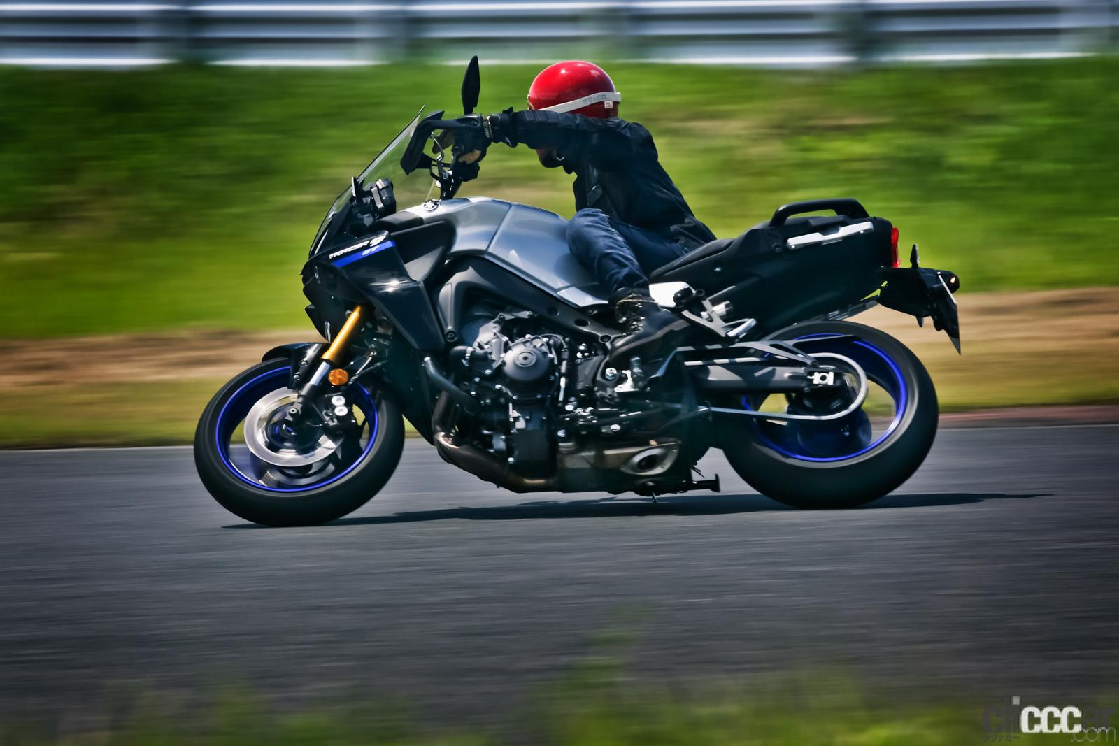 「何キロでも走れる超快適仕様! ヤマハTRACER9 GT ABSは電子制御の恩恵をフルに体感できる高性能スポーツツアラー」の1枚目の画像