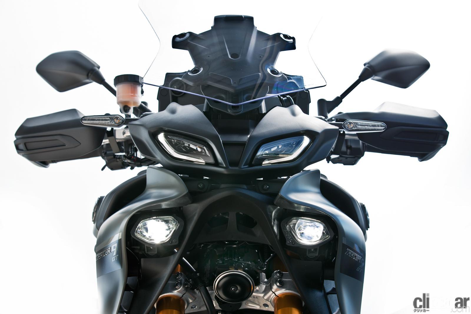「何キロでも走れる超快適仕様! ヤマハTRACER9 GT ABSは電子制御の恩恵をフルに体感できる高性能スポーツツアラー」の7枚目の画像