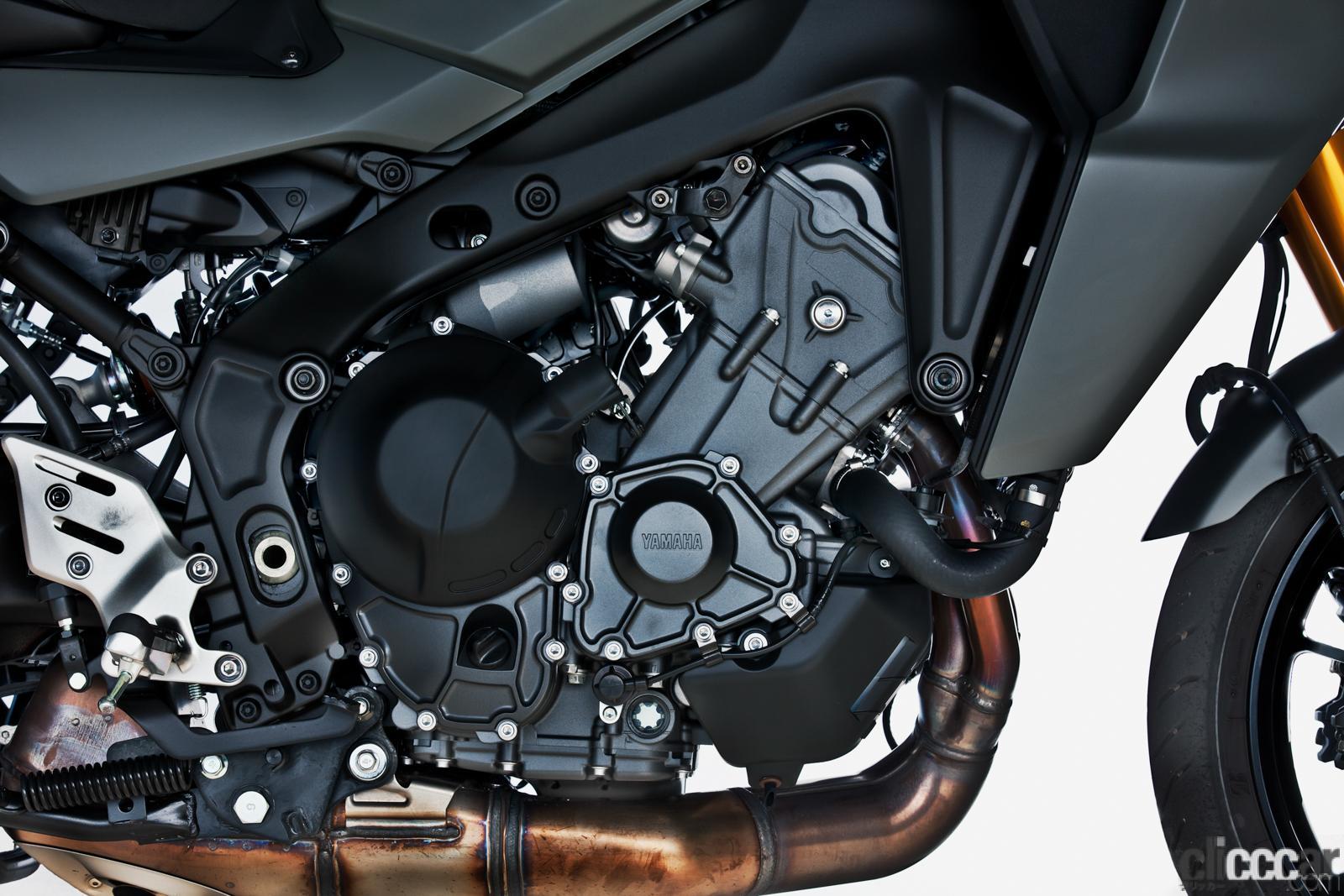 「何キロでも走れる超快適仕様! ヤマハTRACER9 GT ABSは電子制御の恩恵をフルに体感できる高性能スポーツツアラー」の10枚目の画像