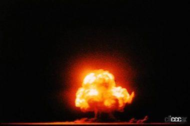 トリニティ実験の核爆発 (C)Creative Commons