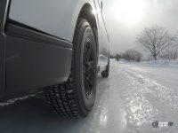 スノー&アイス性能を向上させたビジネスバン・小型トラック用スタッドレスタイヤ・トーヨータイヤ「DELVEX 935」 - TOYO TIRE_DELVEX935_20210712_7