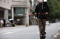 福島で新しい電動キックボード実証実験がスタート
