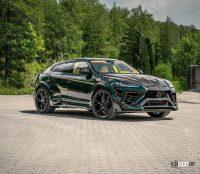 独・マンソリーのランボルギーニ ウルス 最新ボディキットは、攻撃的トリプルエキゾーストパイプ装着! - Lamborghini-Urus-Mansory-1