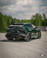 独・マンソリーのランボルギーニ ウルス 最新ボディキットは、攻撃的トリプルエキゾーストパイプ装着! - Lamborghini-Urus-Mansory-6a