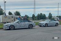 これがプロトタイプだ! メルセデス・ベンツ、新クラス「CLE」導入か? - Mercedes CLE Convertible 1