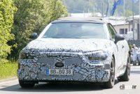 これがプロトタイプだ! メルセデス・ベンツ、新クラス「CLE」導入か? - Mercedes CLE Convertible 8