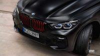 赤いグリルにガラス製ギアシフター装備。「BMW X5 ブラック バーミリオン」初公開! - 2022-bmw-x5-black-vermilion-9