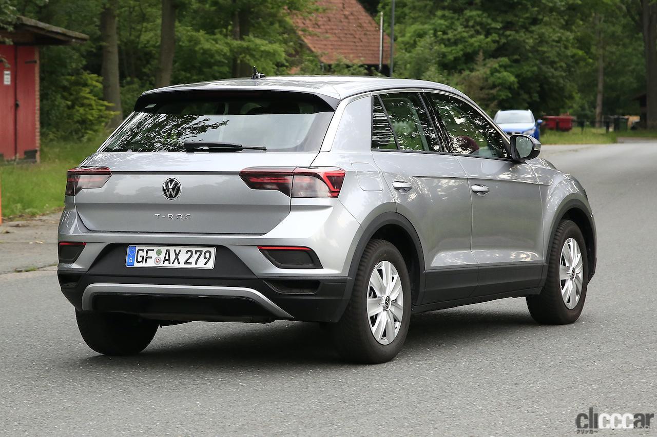 「フロントフェイスを刷新!VW T-Roc改良型プロトタイプをキャッチ」の8枚目の画像